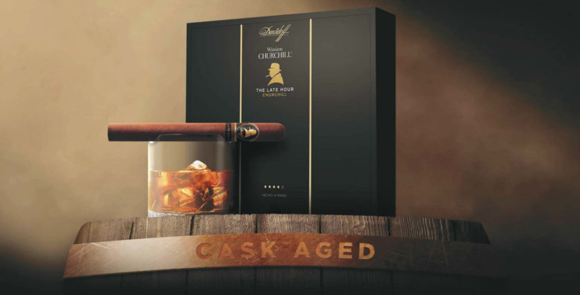 A Special Cigar from Davidoff: Winston Churchill – The Late Hour